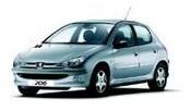STAR RENT A CAR VARNA / СТАР РЕНТ А КАР ВАРНА - Услуги - Peugeot 206 1.2 Petrol AC