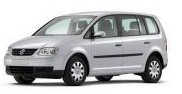 STAR RENT A CAR VARNA / СТАР РЕНТ А КАР ВАРНА - Услуги - VW Touran Автоматик 1.9 Diesel AC 7 седалки